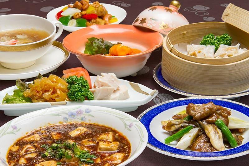 選べる!中国料理ディナーセット・セレクトディッシュ