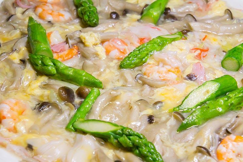 海老と卵のふわとろ煮